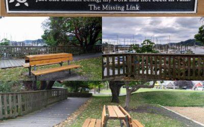 Sydney Banks Memorial Bench Created